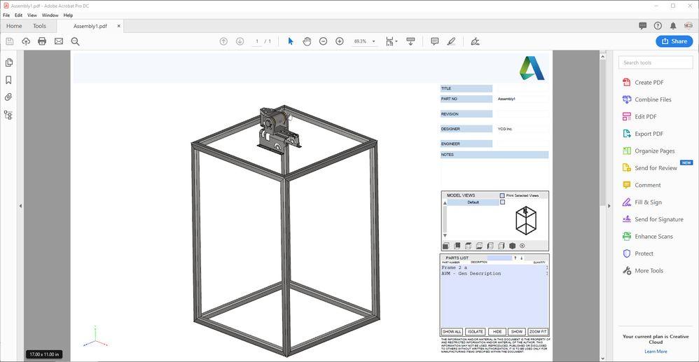 Solved: 3D PDF BoM - Autodesk Community- Inventor
