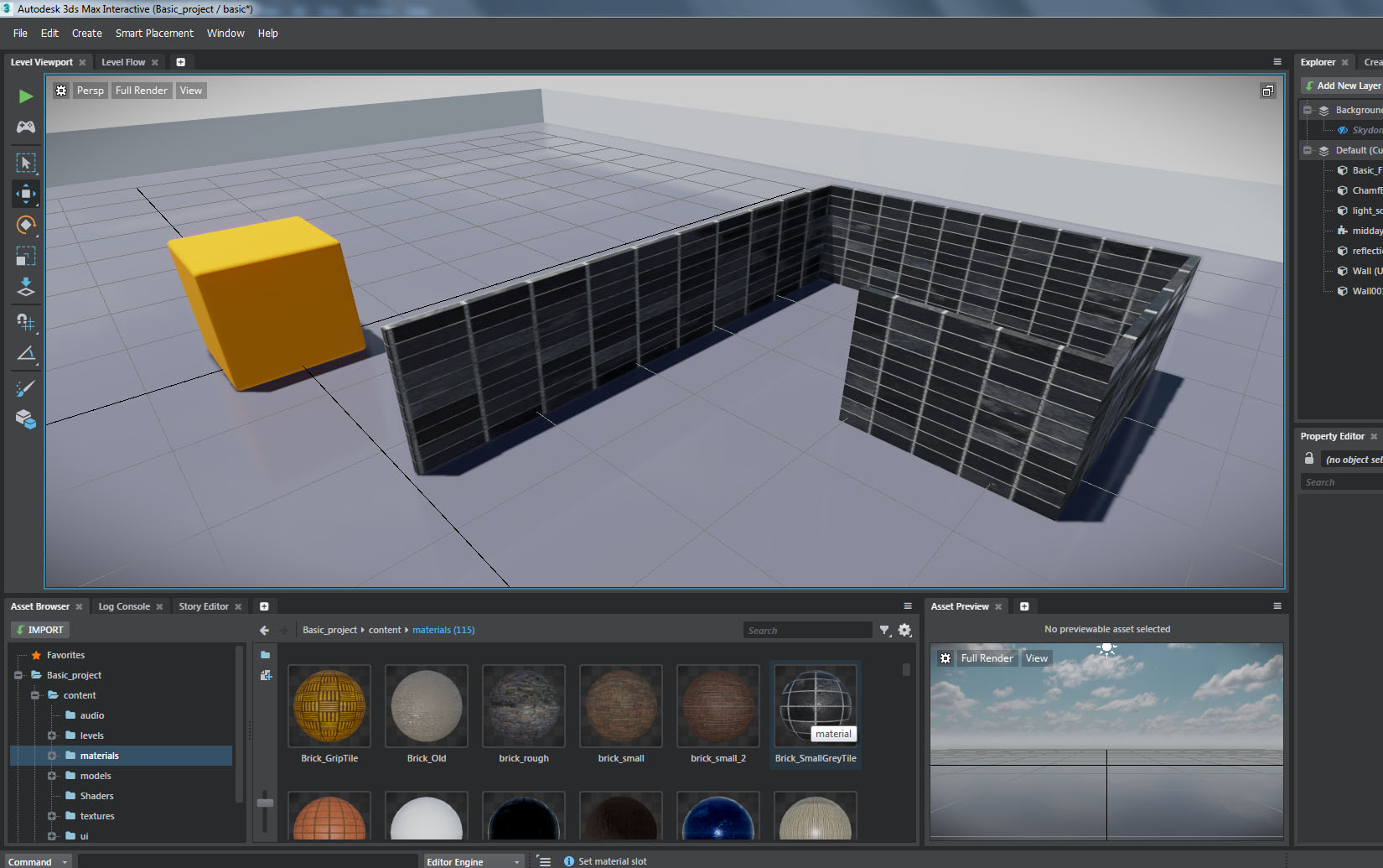 3ds Max Interactive Button to activate the animation - Autodesk