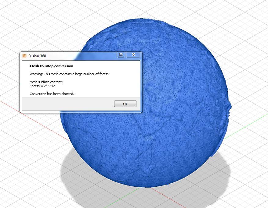 Fichier Autodesk RésoluConvertir Stl 360 En Sous Fusion Body Un QWrxBeCdo