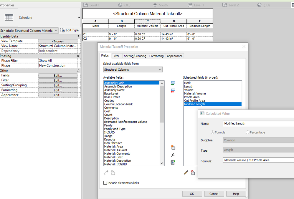 Solved: Steel column length - Autodesk Community- Revit Products