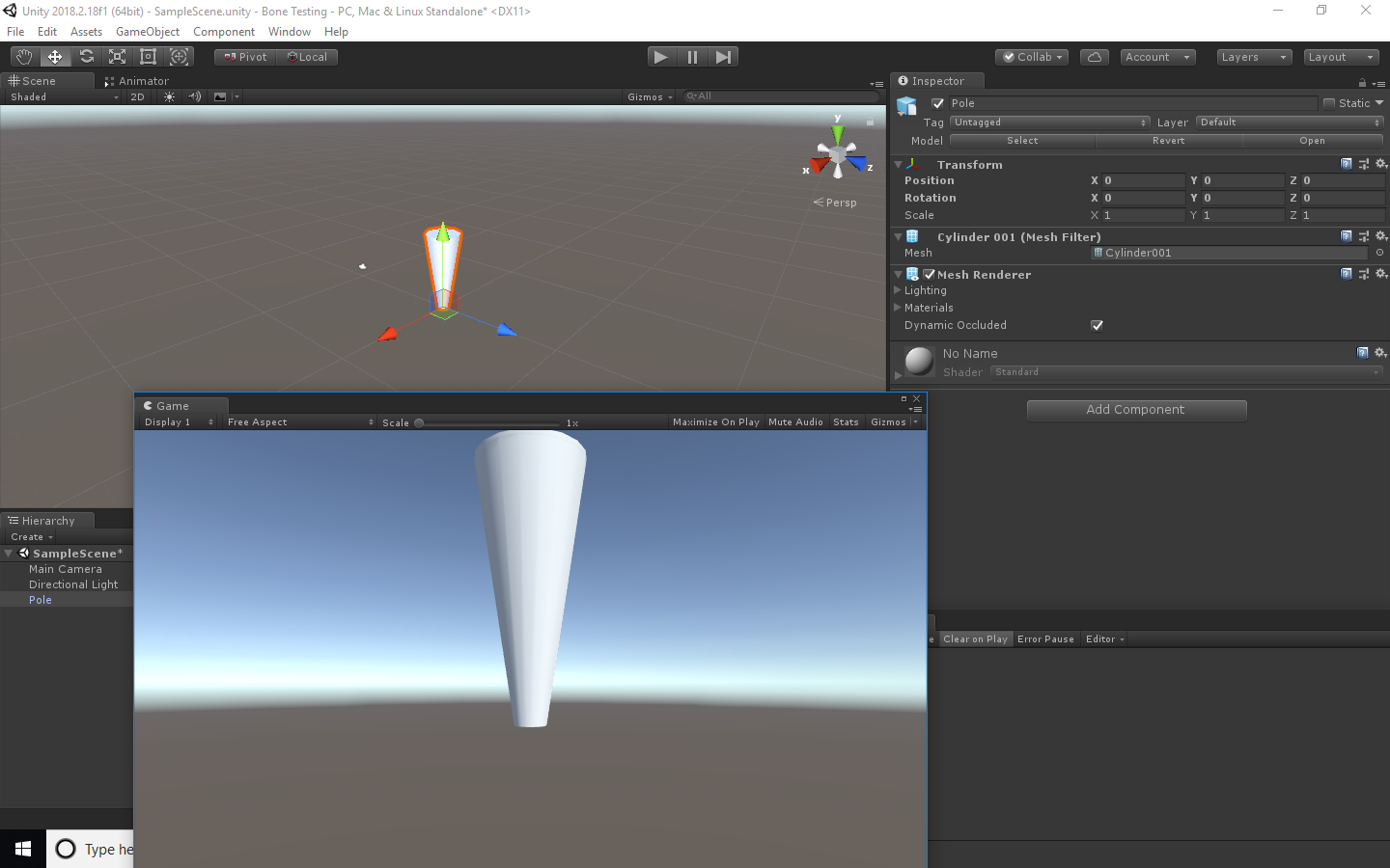 Changing pivot rotations in Max for Unity - Autodesk