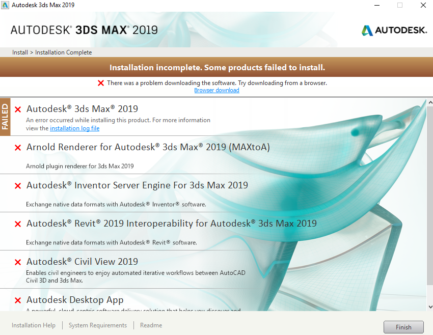Solved: Max 2019 not installing - Autodesk Community- 3ds Max