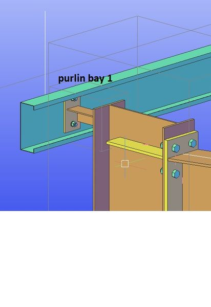 eave beam bracket flip - Autodesk Community- Advance Steel