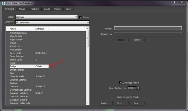 Autodesk fix the bridge button - Autodesk Community- 3ds Max