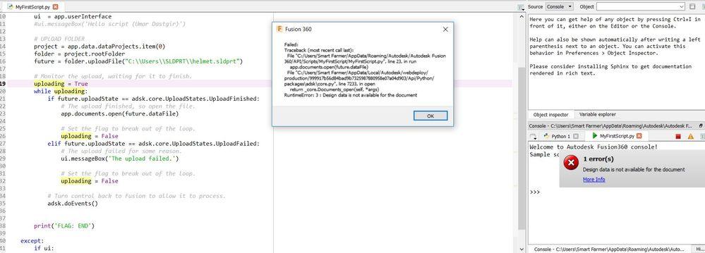 Solved: Set up Fusion360 Python APIs - Autodesk Community- Fusion 360