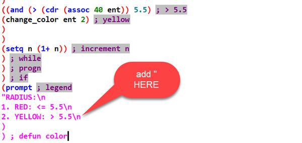 Error on autolisp routine - Autodesk Community- AutoCAD