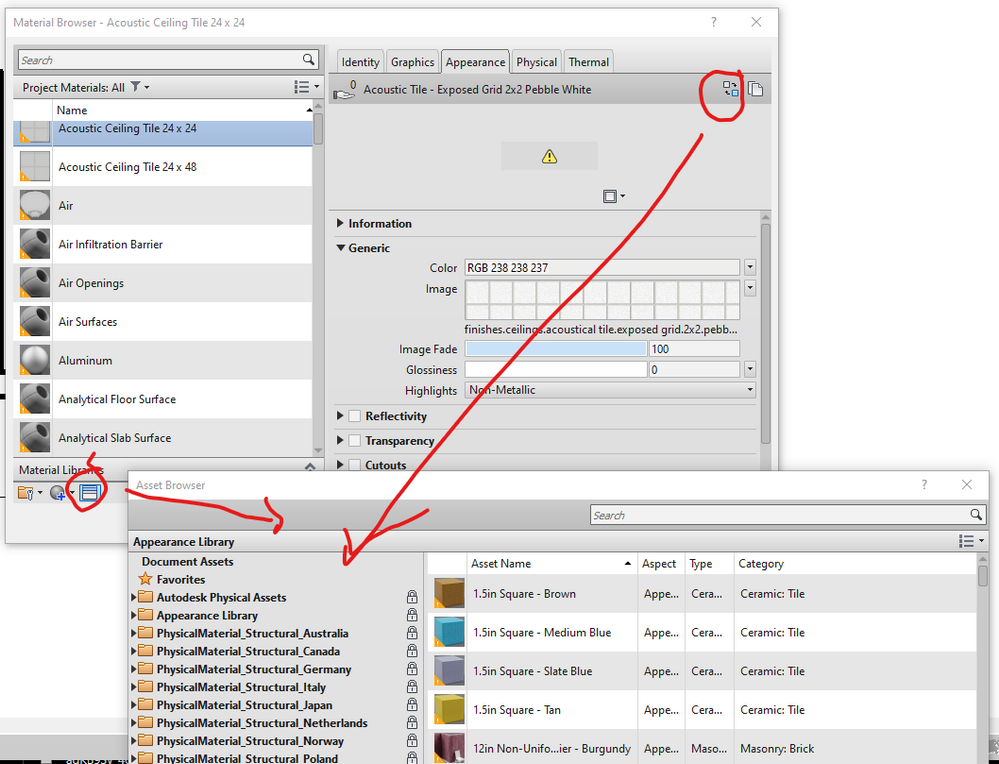 Solved: How does Lumion associate Revit materials