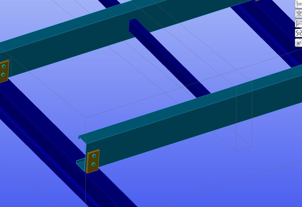 Solved: Hole in purlin for bridging not shown - Autodesk