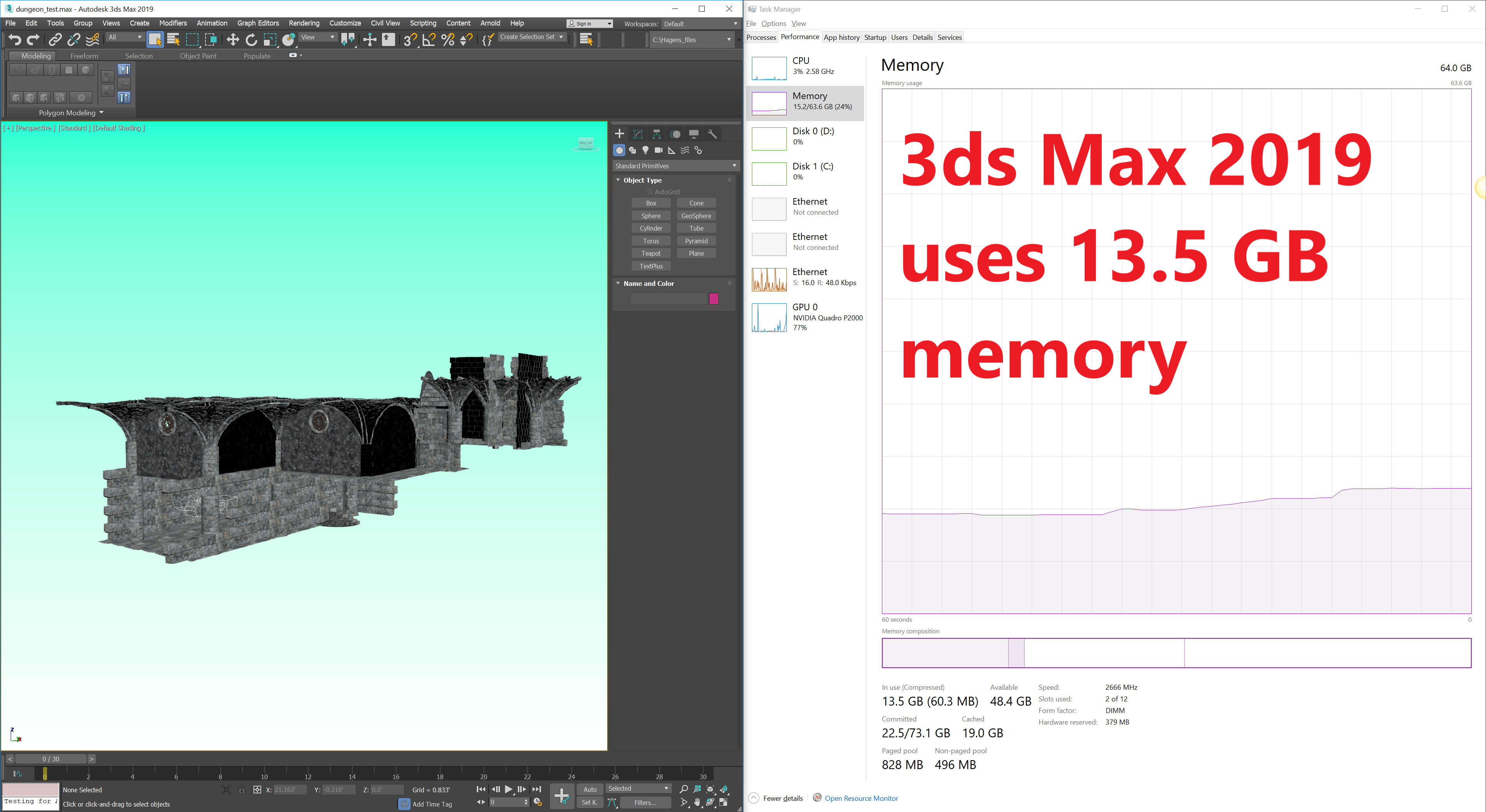 Solved: 3ds Max 2020 slow performance - Autodesk Community- 3ds Max