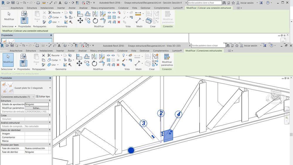 Solved Gusset Plate For 3 Diagonal Revit Problem Autodesk