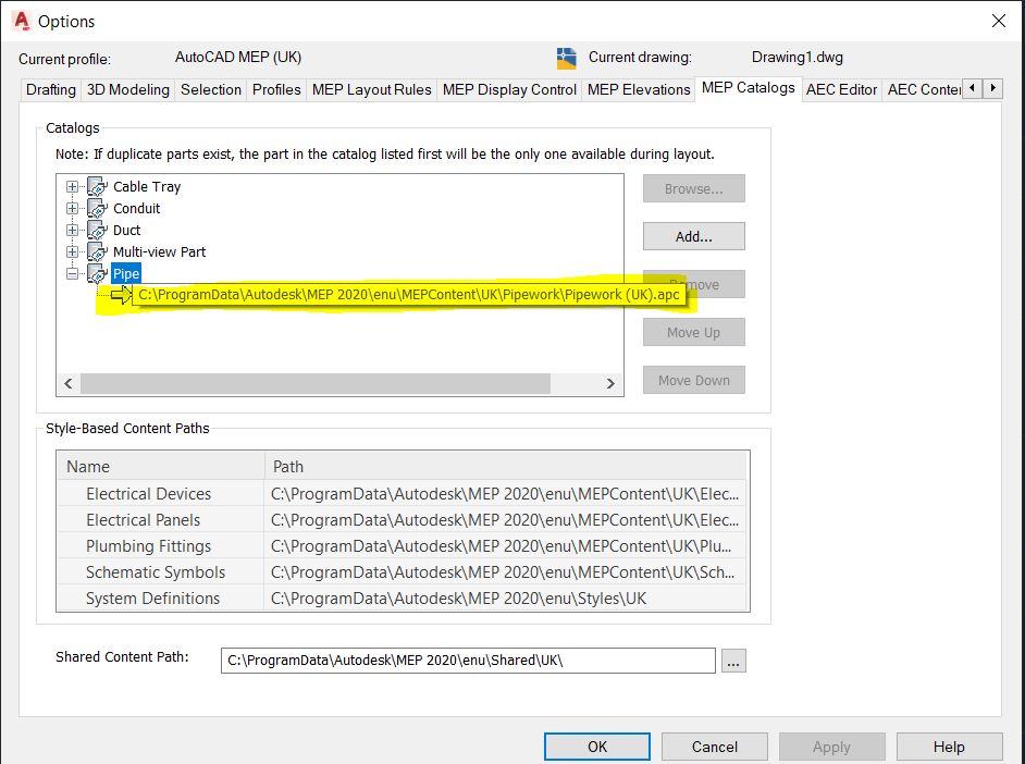 Part Size Error - Autodesk Community- AutoCAD MEP