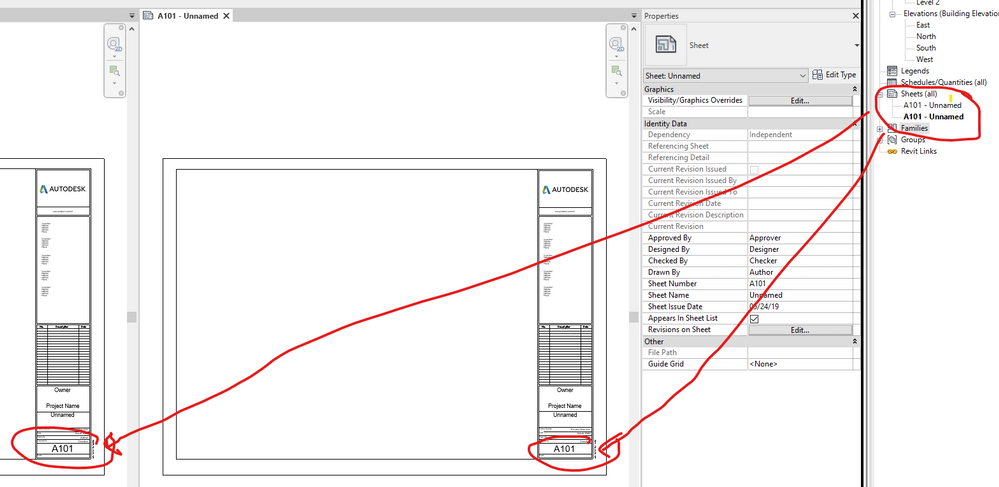 How to create multiple sheets to show design options in