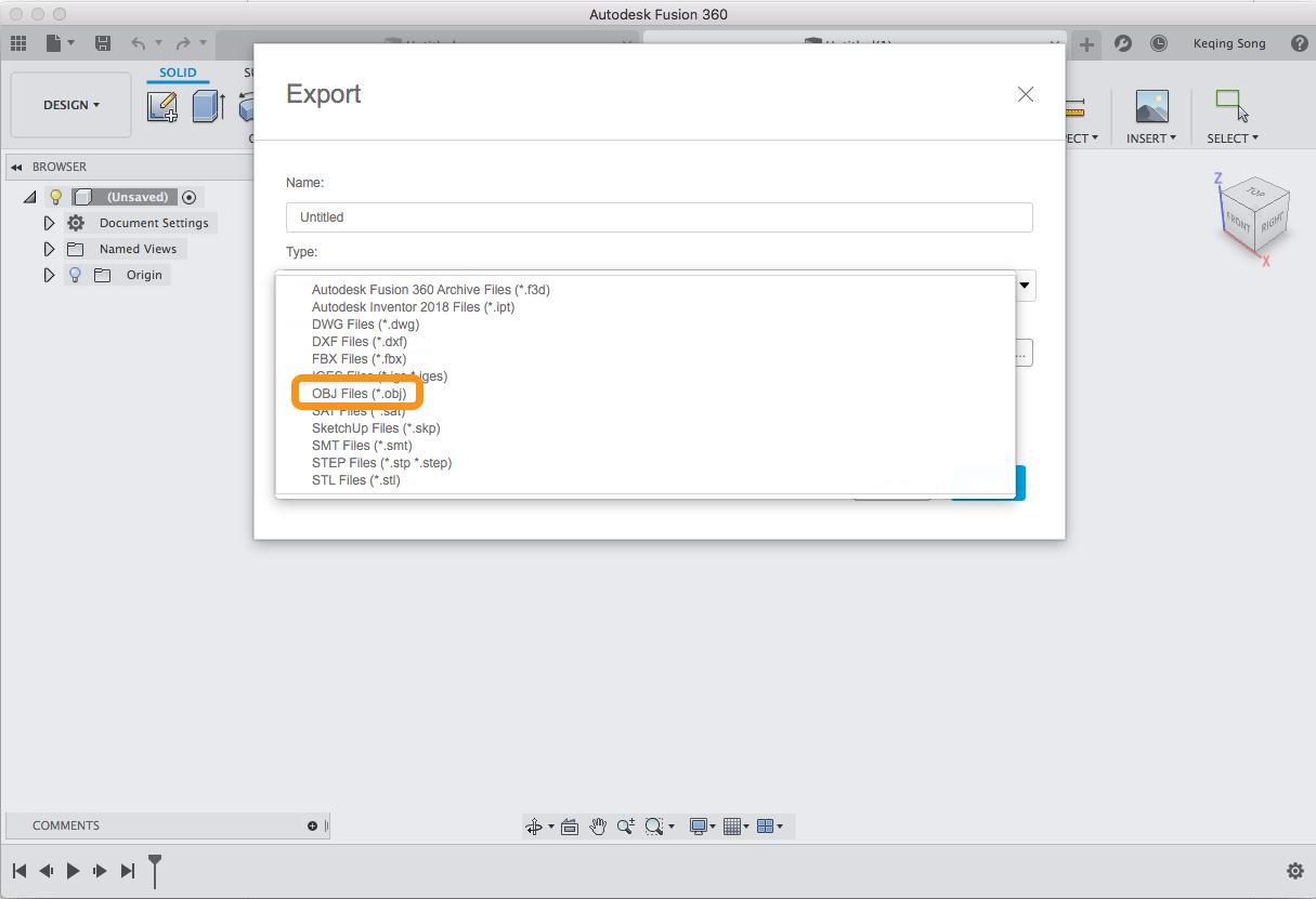 Export to  obj - Autodesk Community
