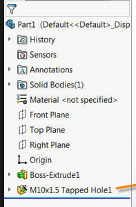 Feature folders in Part model tree - Autodesk Community- Inventor