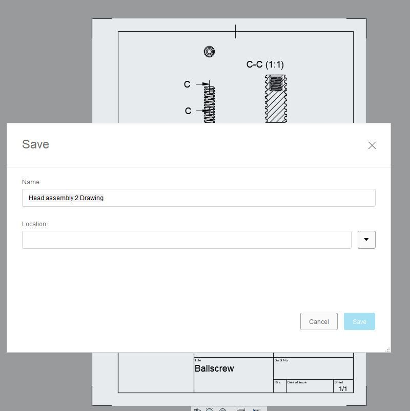 Can't save drawing - Teamhub issue? - Autodesk Community- Fusion 360