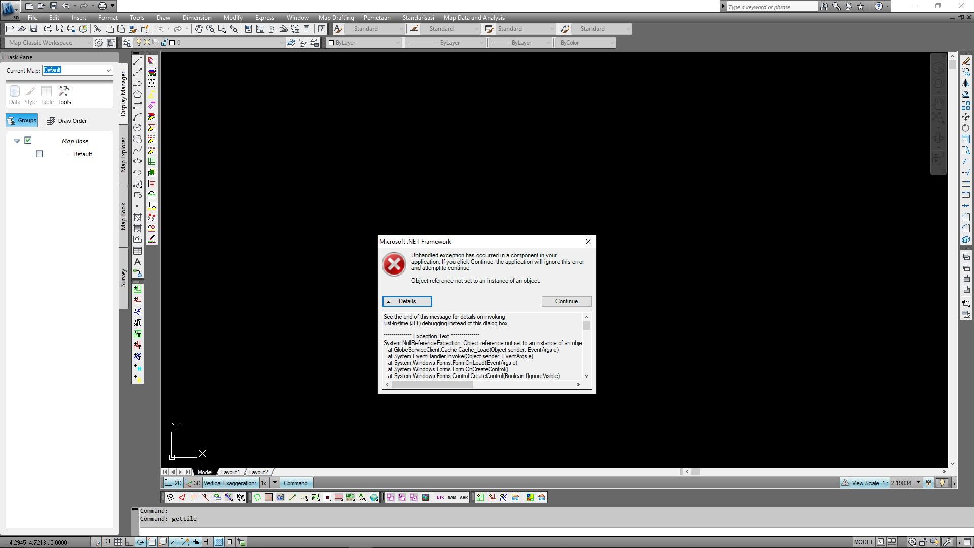 Solved: Error System NullReferenceException - Autodesk Community