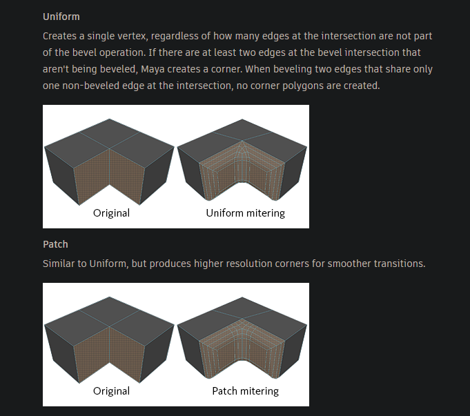 Patch Mitering Option for Chamfer - Autodesk Community
