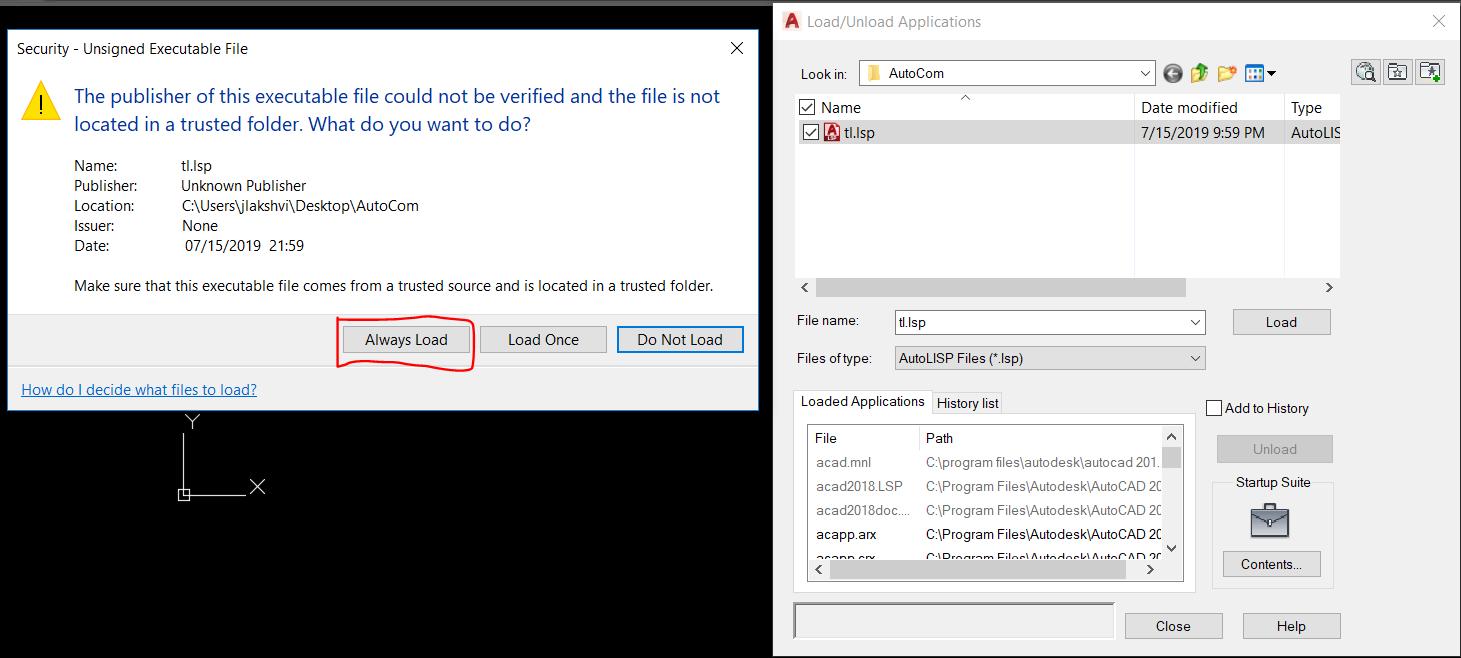 Solved: How to load Lisp TL and Lisp Nam ( HVAC ) for Cad