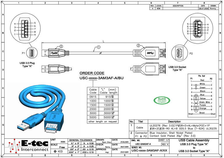 Electrical Cable Schematic Assembly Drawings In Inventor