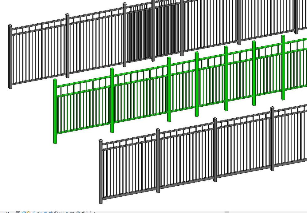 Fence As Curtain Wall    I Give Up - Autodesk Community- Revit Products
