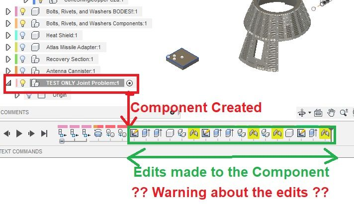 Component Deletion Warning : About what? - Autodesk Community
