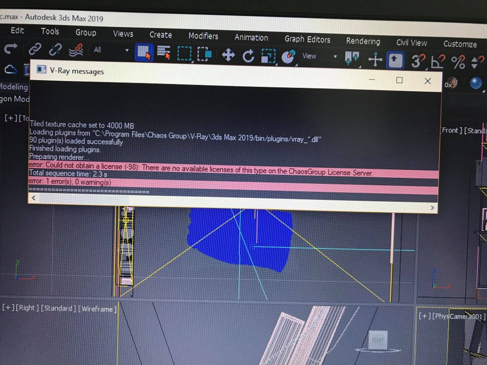 Solved: vray next Didn't work on 3Ds MAX 2019 - Autodesk