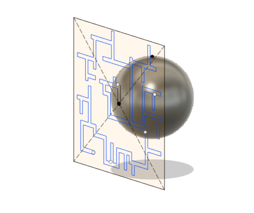 Wrap a sketch around a sphere  - Autodesk Community- Fusion 360