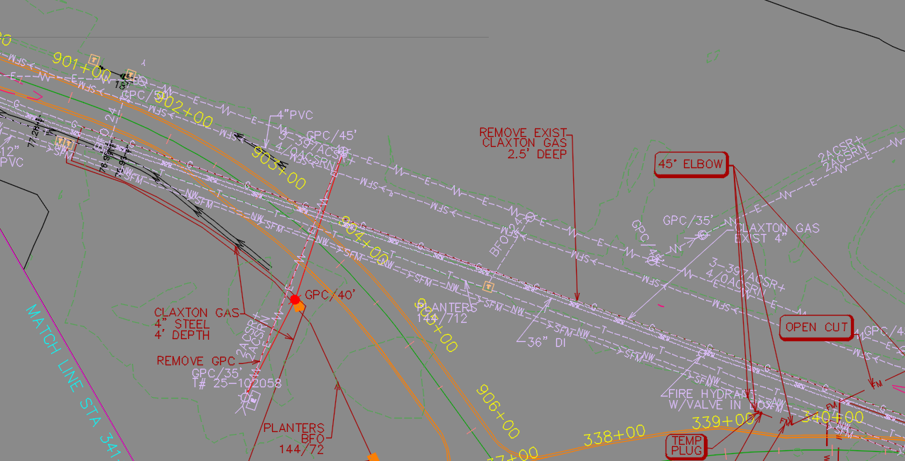 Linetypes gone crazy in plotting - Autodesk Community- Civil 3D