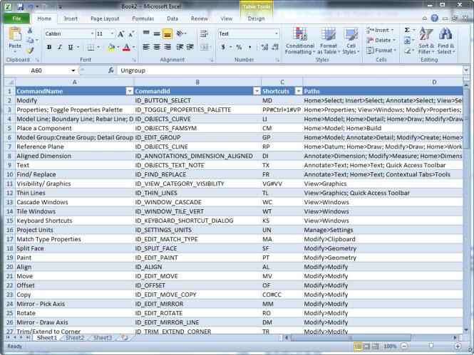 Revit 2011 keyboard shortcuts autodesk community for Pdf architect key