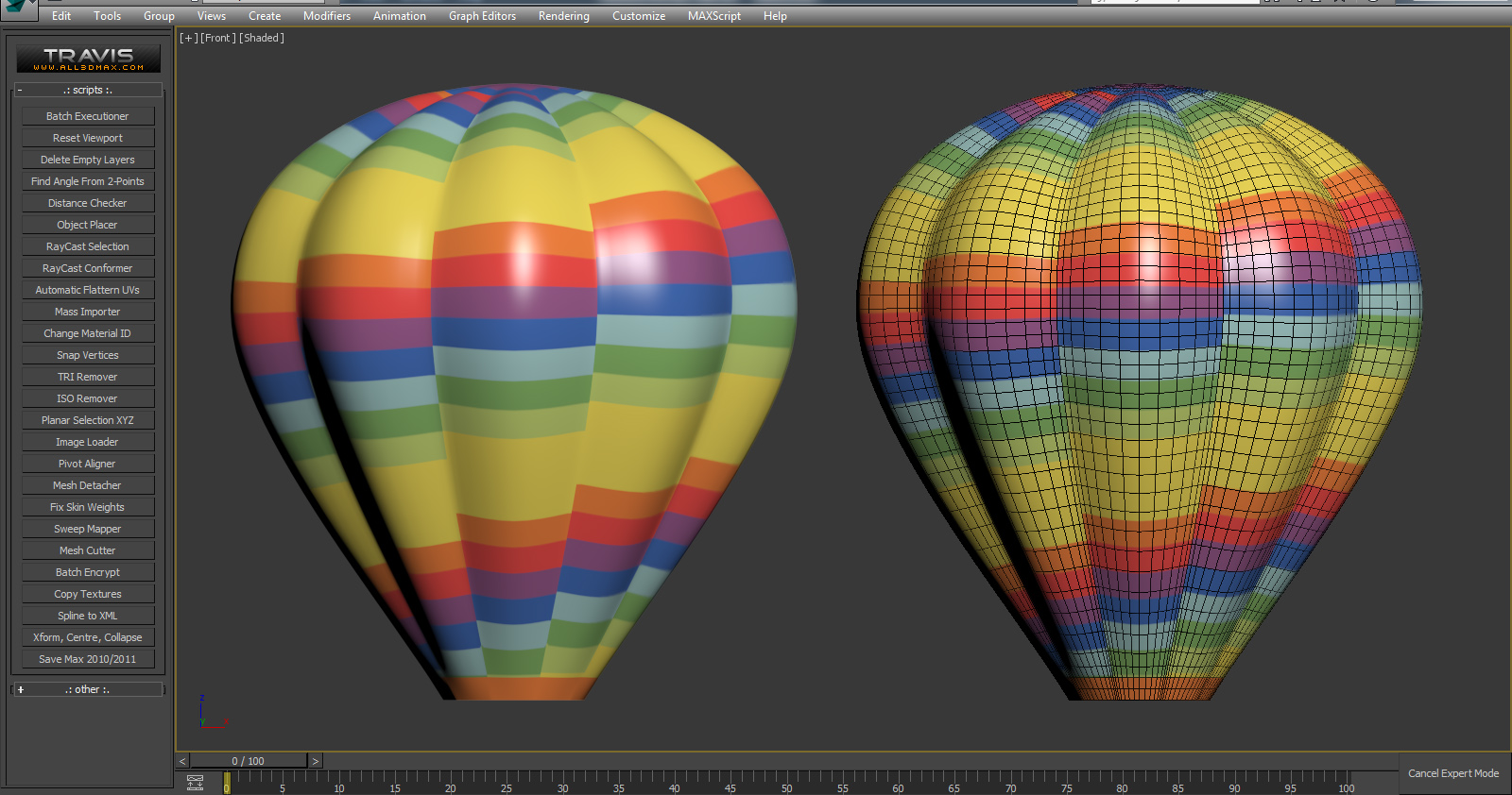 Help with hot air balloon autodesk community 3ds max using blueprints draw your spline 02 center the pivot and add lathe modifier with segments matching blueprint 03 delete all additional faces leaving a malvernweather Image collections
