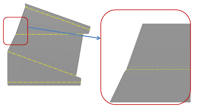 Solved Creating A Flange In Inventor 2013 Sheet Metal