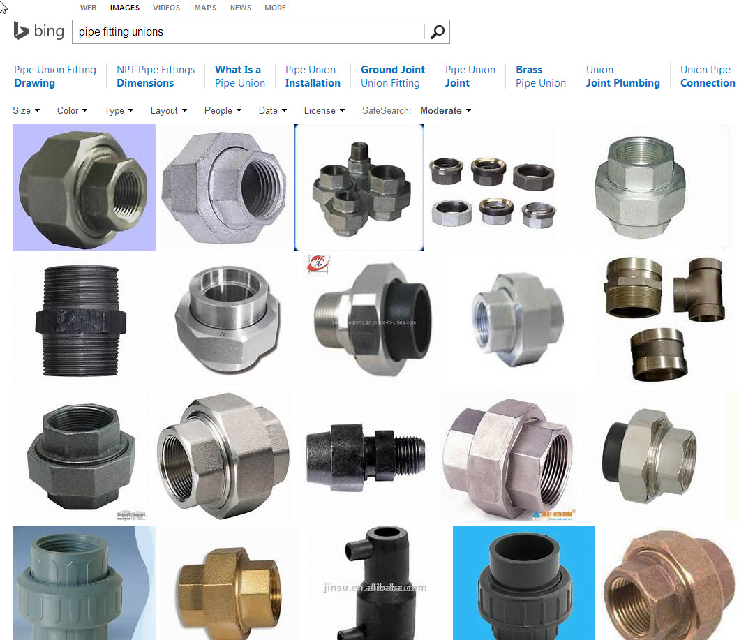 Pipe fitting unions autodesk community