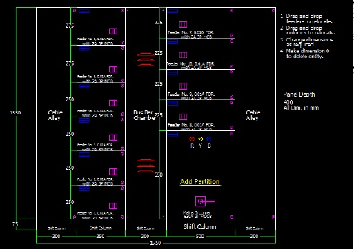 How to create a Panel General Arrangement Drawing in AutoCAD