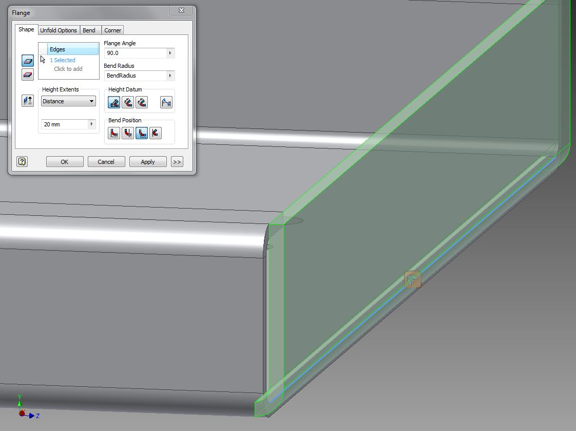 Solved Convert This Solid To Sheet Metal Autodesk
