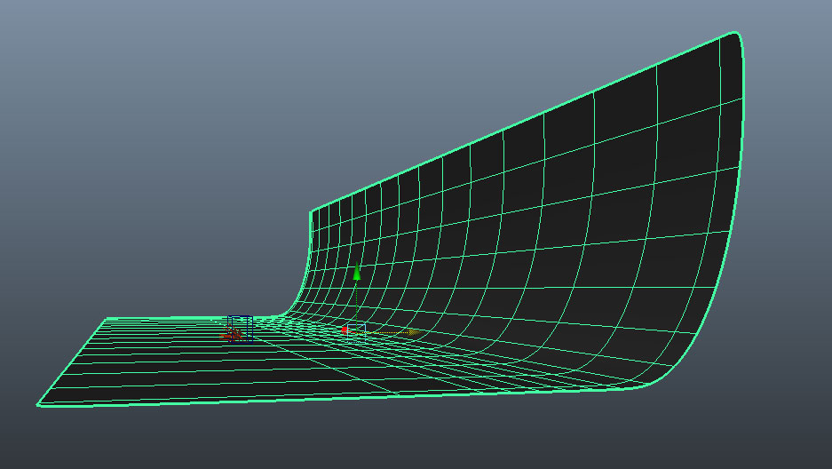 Simple curved plane? -...
