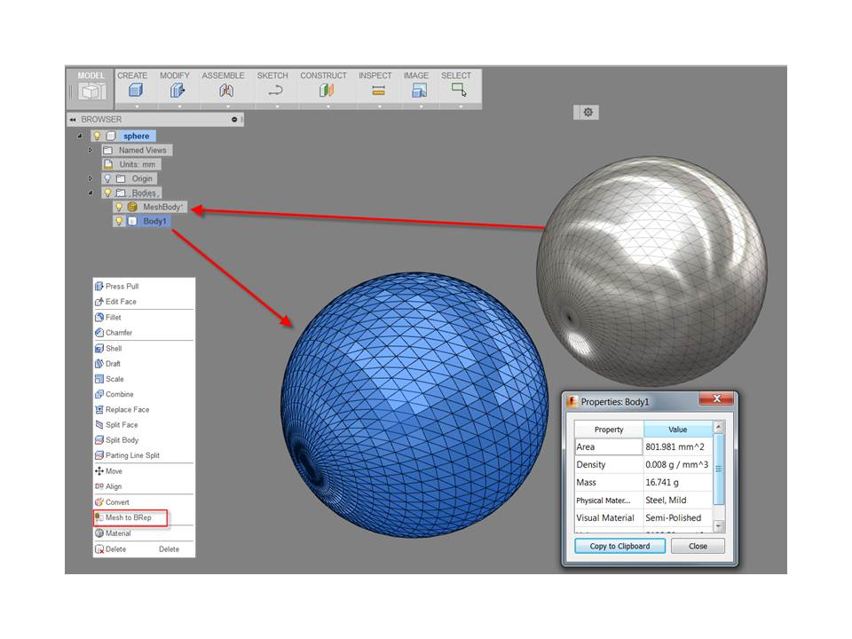 Expand the use of meshes in Fusion - Autodesk Community- Fusion 360