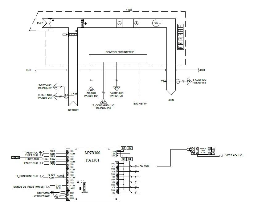 HVAC Controls Drawing