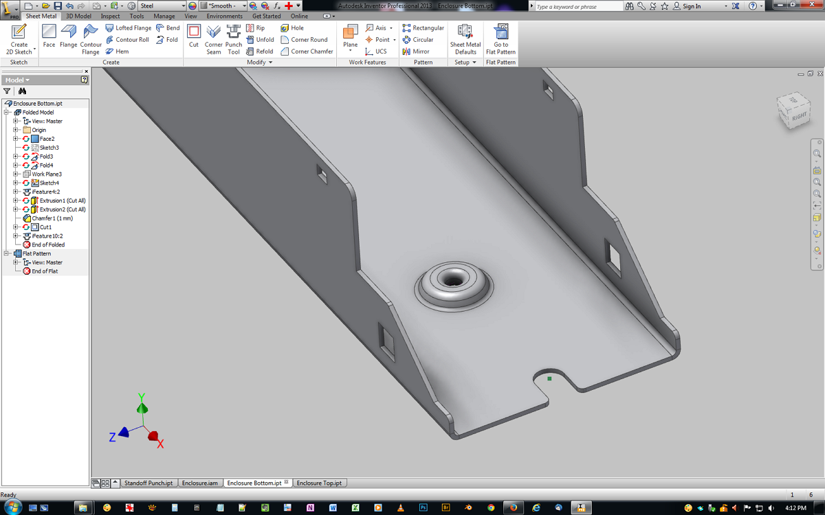 Solved Need Help Making A Sheet Metal Punch Tool
