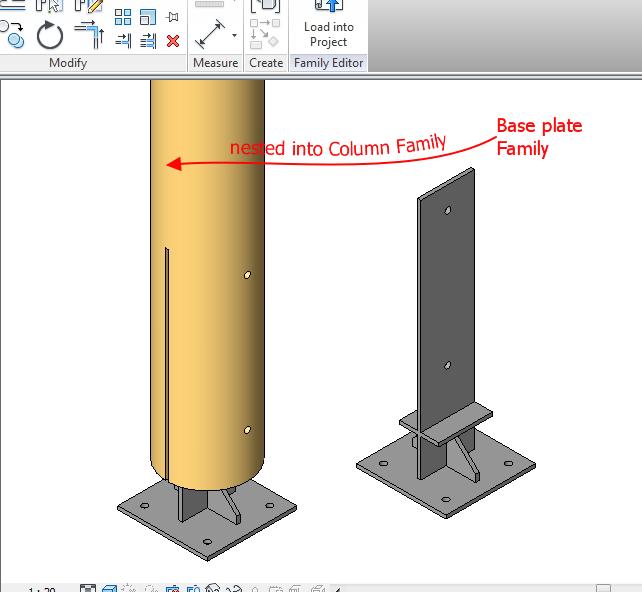 Solved Baseplate For Glulam Columns Autodesk Community