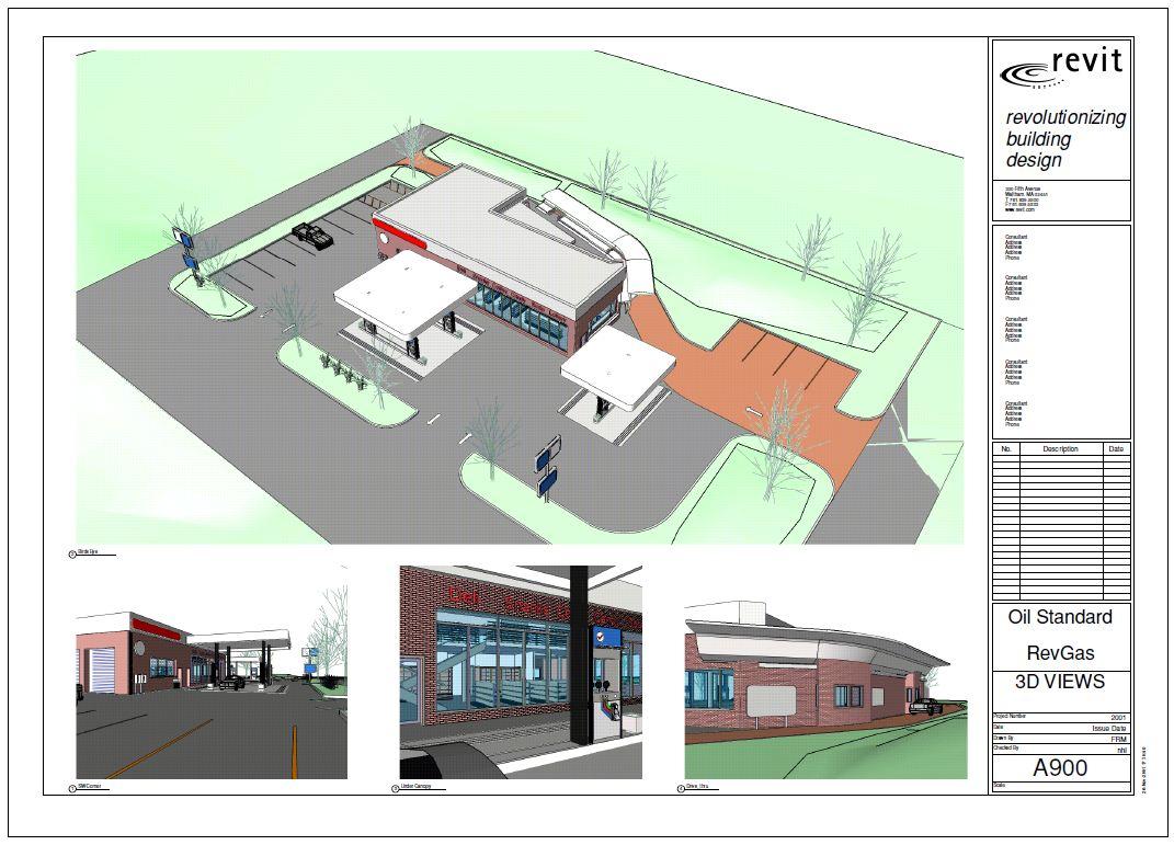 Revit Gas Station Petrol Station Autodesk Community