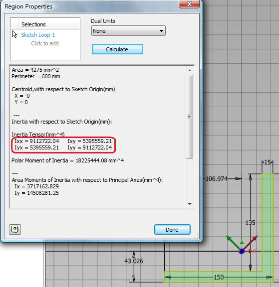 Solved: Moment of Inertia (Second Moment of Area) - Autodesk
