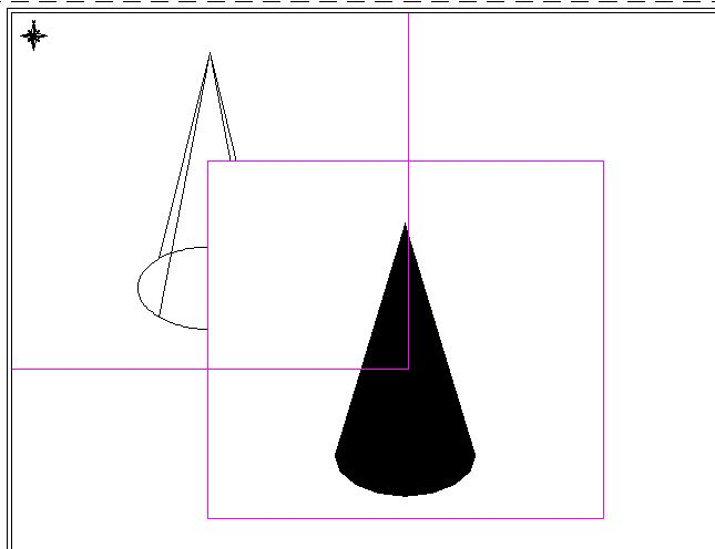 how to turn on viewport frame in autocad