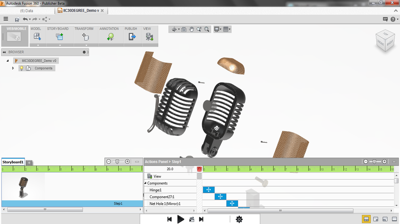 Closing the Fusion 360 Publisher Beta: Export your designs
